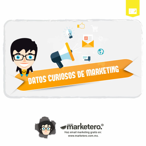Infografía Datos curiosos del Marketing